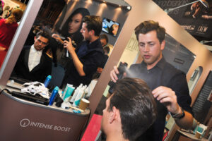 Kerastraight at Professional hairdresser live 2012