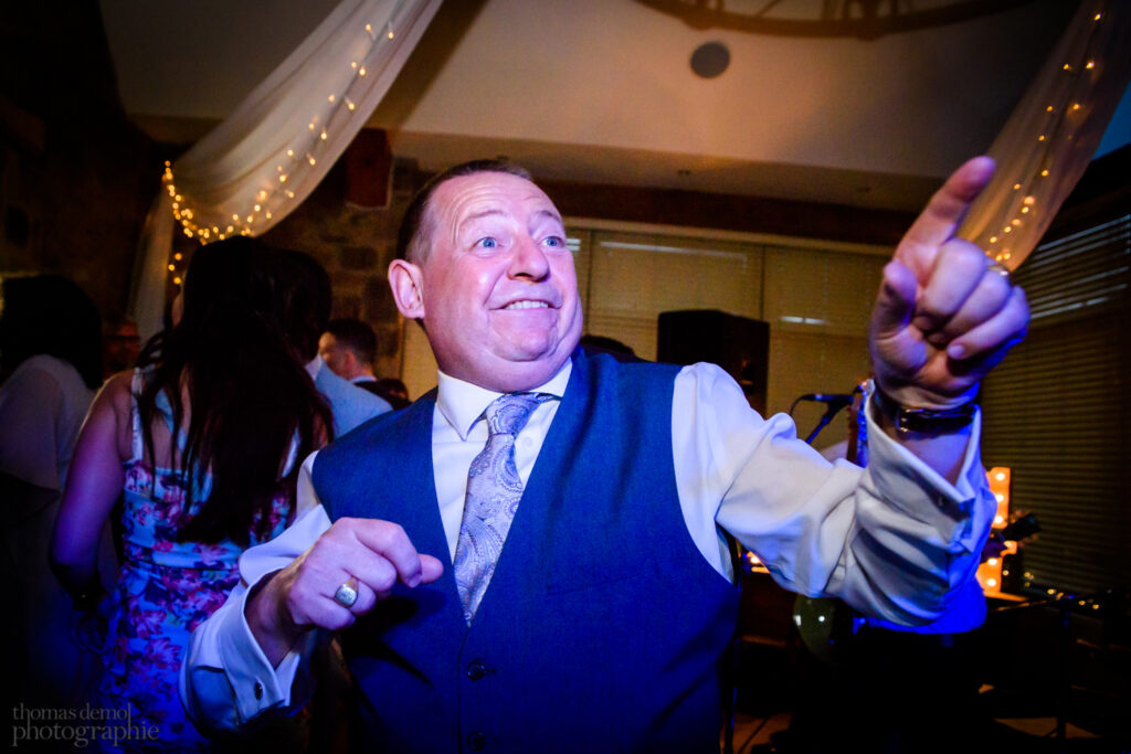 Wedding party at Beeston Manor