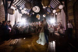 First dance in the stables