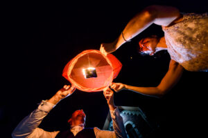 Lantern launch