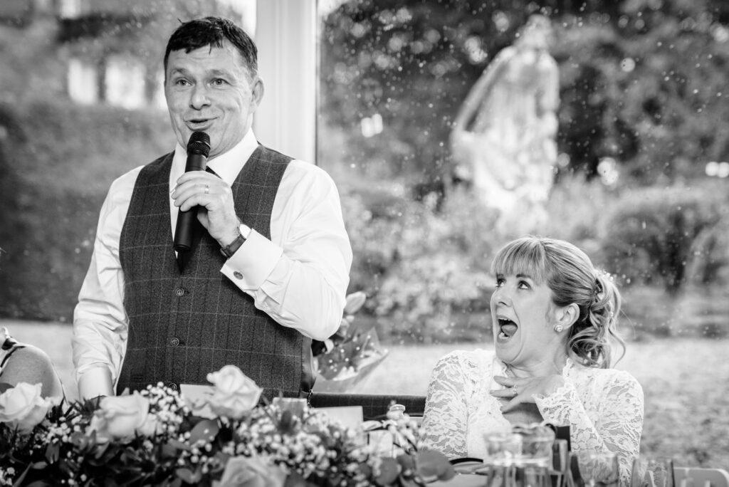Documentary wedding photography in Cheshire