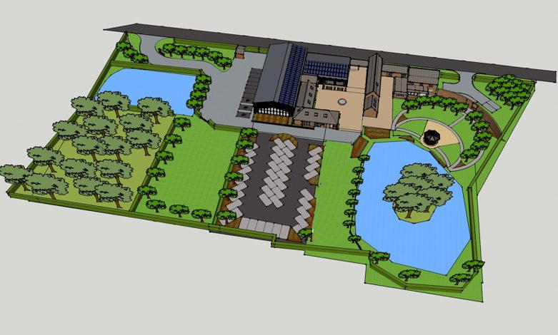 Handbury farm layout